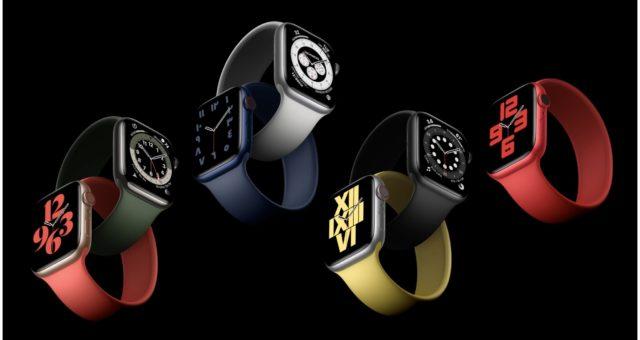 Apple Watch Series 6 jsou vybaveny novým řemínkem Solo Loop z jednoho souvislého dílu