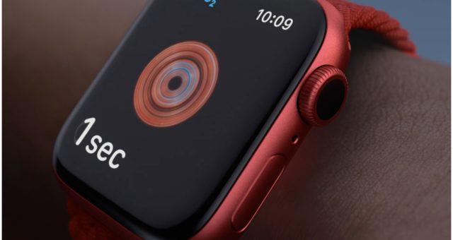 Apple Watch Series 6 přicházejí v nových barvách včetně PRODUCT(RED)