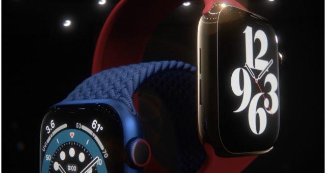 Apple představil nové Apple Watch Series 6 s měřením kyslíku v krvi