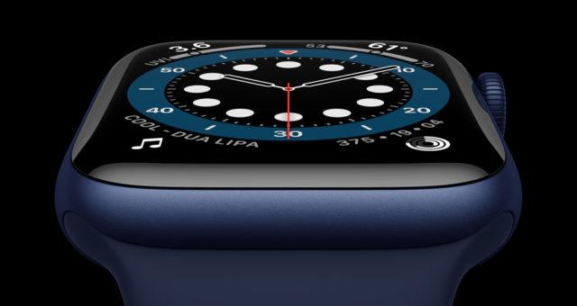 """Nové Apple Watch Series 6 jsou vybaveny 2,5krát jasnějším, """"always-on"""" displejem"""