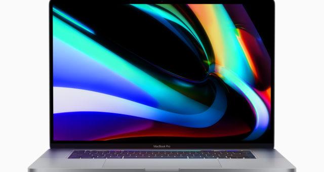 Nevydaný 16palcový MacBook Pro 2020 je uveden v poslední aktualizaci Boot Camp