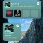Spotify má nyní widget pro  iOS 14