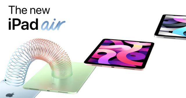 Apple propaguje nový iPad Air ve své nejnovější reklamě