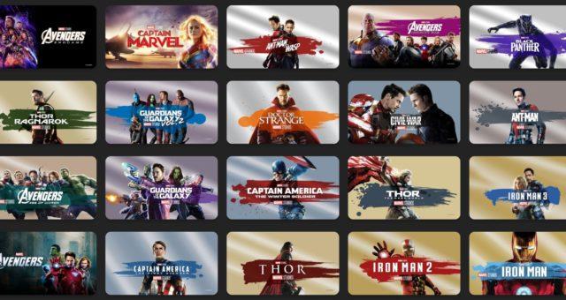 Nejen Marvel filmy na iTunes jsou nyní zlevněné