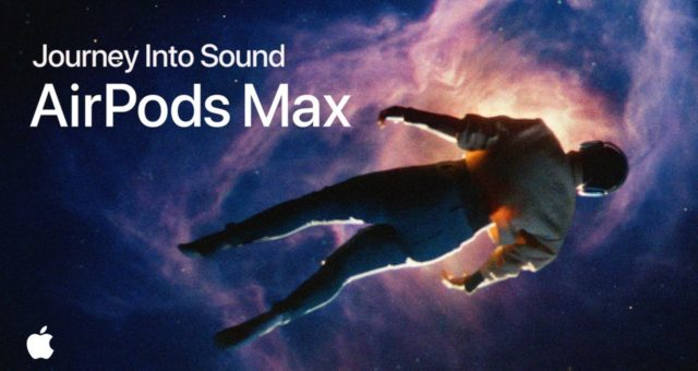 "Apple sdílel reklamu ""Journey into Sound"" na nové AirPods Max"