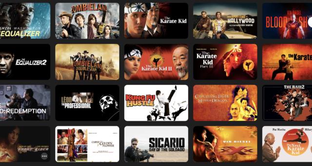 Gladiator, Karate Kid a další filmy na iTunes jsou nyní zlevněné