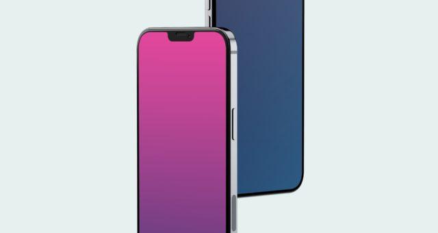 macOS spádové tapety pro iPhone