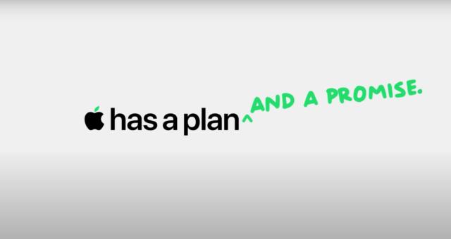 Apple propaguje svůj plán, aby byl každý z jejich produktů do roku 2030 uhlíkově neutrální