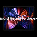 Apple iPad Pro 2021 propagační tapety