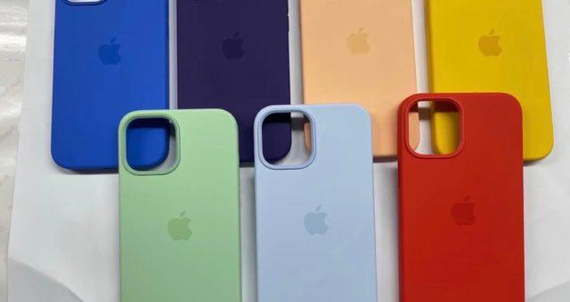 Nové fotografie odhalují novinku jarních barev obalů MagSafe pro iPhone 12
