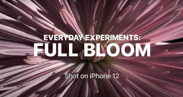 """Apple se dostává do jarní nálady s novým videem """"Full Bloom"""" z kampaně Shot on iPhone"""