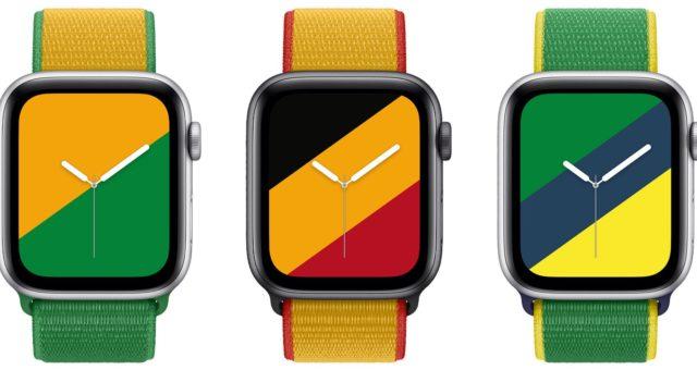 Apple vydal kolekci Národních řemínků Apple Watch