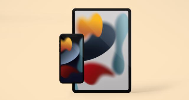 Oficiální iOS 15 tapety