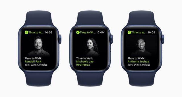 """Apple Fitness+ představuje novou sérii cvičení """"Time to Walk"""""""