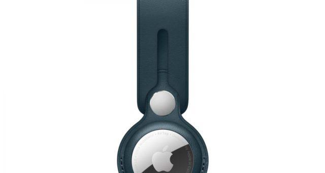 Apple představil nové barvy kožených poutek a klíčenek  pro AirTag