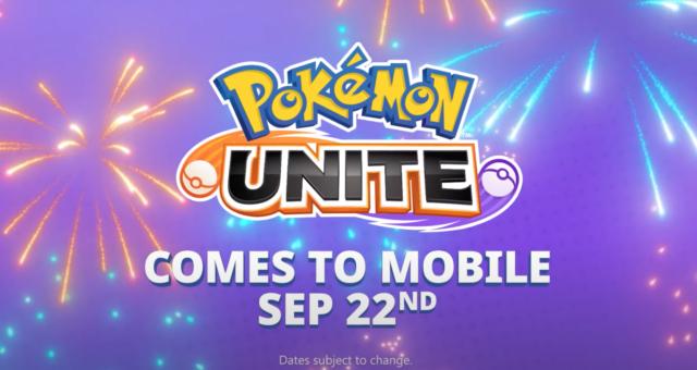 Hra Pokémon Unite vychází pro iOS i Android již 22. září