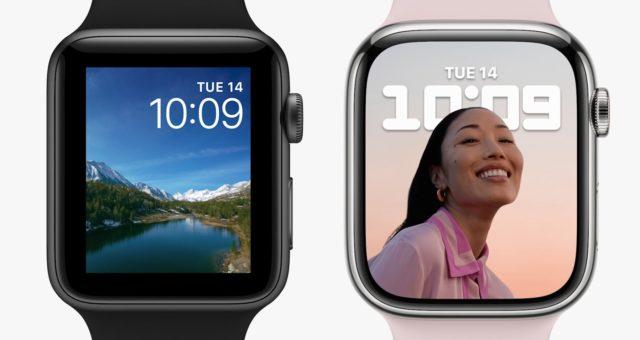 Apple představil nové hodinky Apple Watch Series 7 s větším displejem