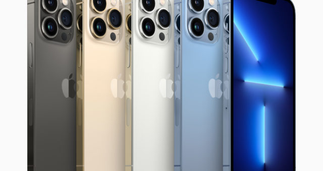 Řada iPhone 13 má stejné množství RAM jako řada iPhone 12