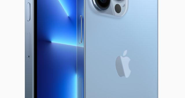 iPhone 13 Pro a iPhone 13 Pro Max má displej Pro Motion, nový kamerový systém, větší baterii a další