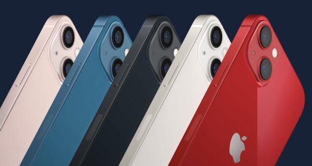 Nový iPhone 13 a iPhone 13 mini s menším okrajem obrazovky, A15 Bionic čipem a dalšími novinkami
