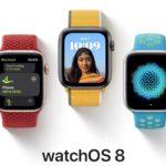 Společnost Apple vydala watchOS 8