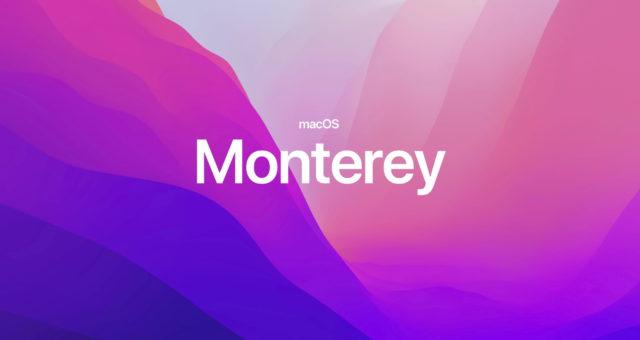 Společnost Apple vydala macOS Monterey s Režimem soustředění, AirPlay a dalším